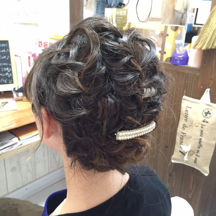 hair set ヘアセット